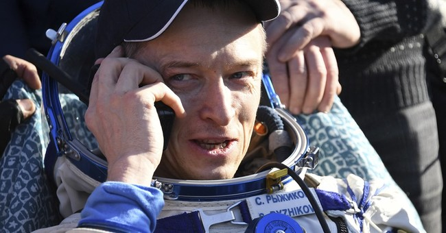 Russian cosmonaut says he has taken relics of saint to space