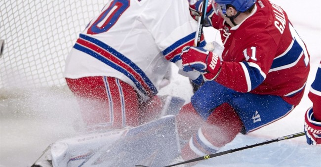 Glass, Lundqvist help Rangers beat Canadiens 2-0 in Game 1