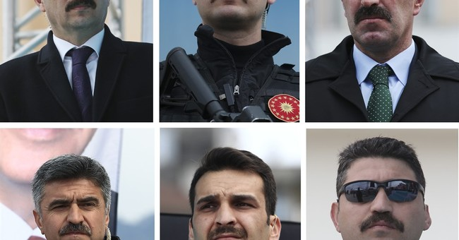 Erdogan-style mustaches trending in Turkish ruling party