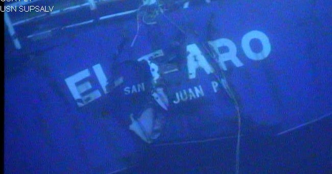 'I'M A GONER': El Faro's last hours as ship sails into storm