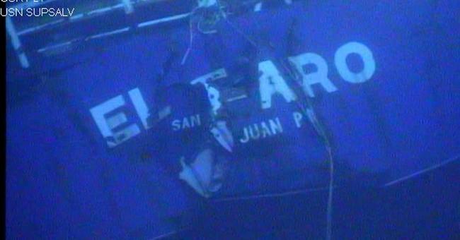 'I'M A GONER': El Faro's last hours as ship sails into storm