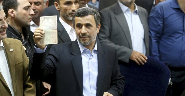 Why it matters: Ahmadinejad filing for Iran's presidency