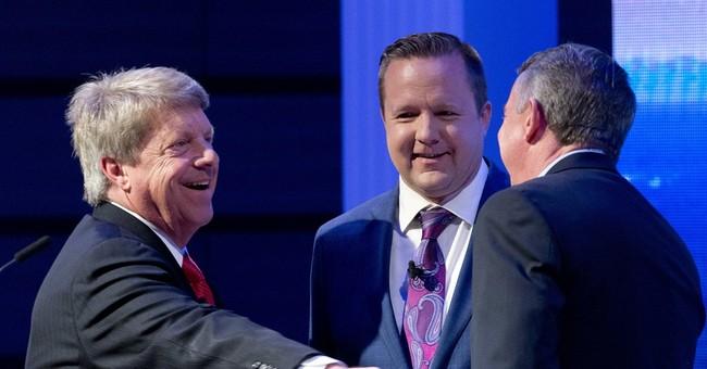 GOP hopefuls for Virginia governor show varied debate styles