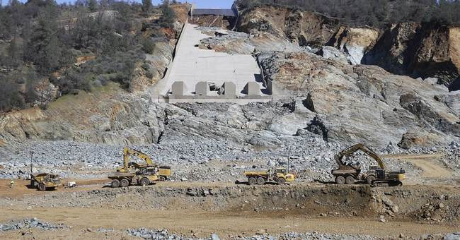 Water releases to resume at damaged California dam spillway