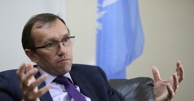 AP Interview: UN envoy says Cyprus security deal possible