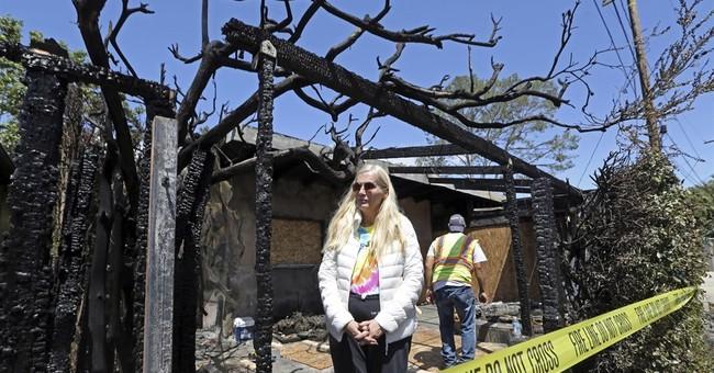 Fire burns 2 LA houses, including home of Swedish TV star