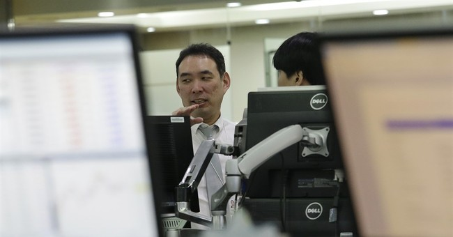 Asian markets fall as investors fret over tensions in Koreas