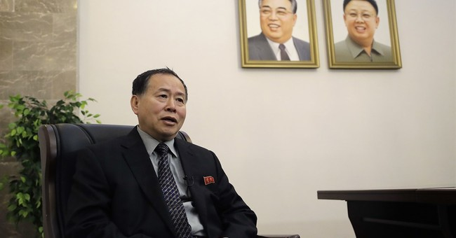 Quotes from North Korean official about tensions with US