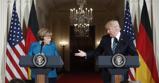 Merkel seeks good ties with Trump, despite differences