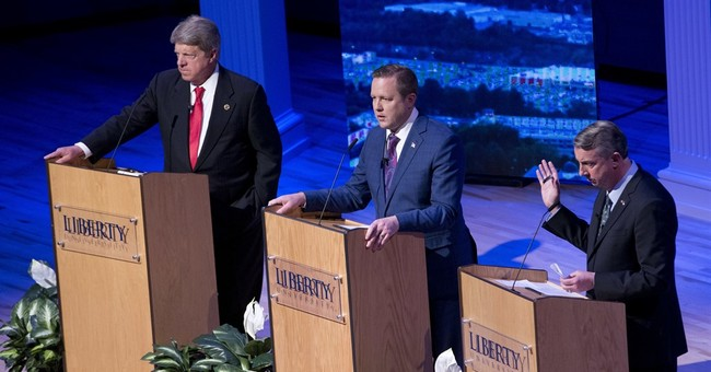 GOP hopefuls for Virginia governor show varied debate styles