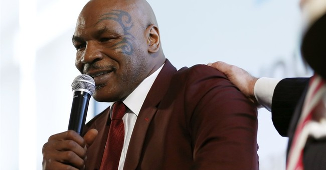 Mike Tyson thanks Christie for work on prisoner re-entry