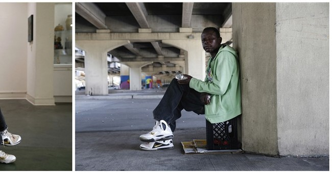 Looking at New Orleans, through the eyes of a homeless man