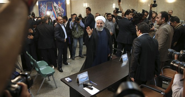 Iran's president registers to run in May elections