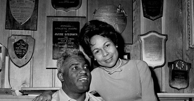 LEADING OFF: Dodgers to unveil Jackie Robinson statue
