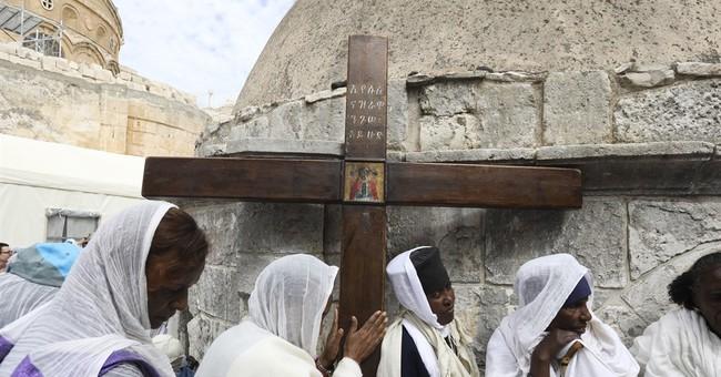 AP PHOTOS: Christians celebrate Good Friday in Jerusalem