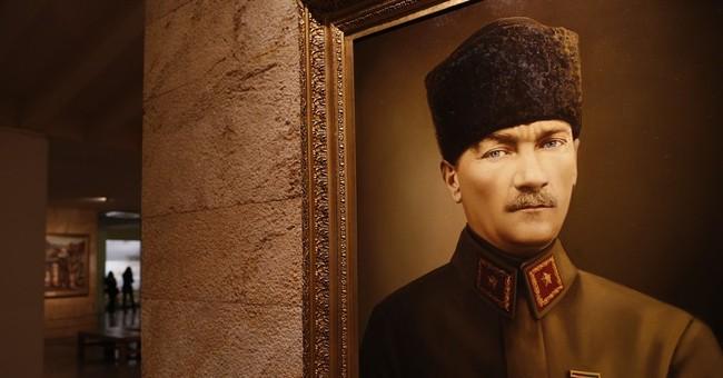 AP Photos: The mausoleum of Turkey's founding father Ataturk