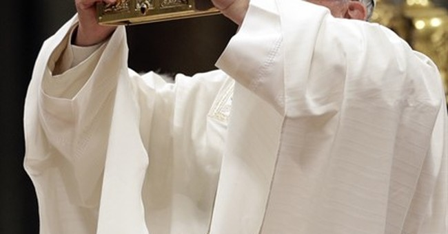 Pope denounces corruption, injustices that 'crucify' dignity