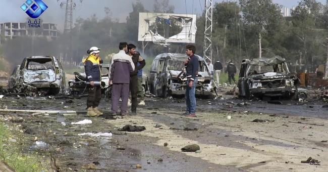 Mass evacuation in Syria postponed after blast kills 80 kids