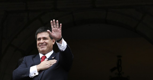 Paraguay president says he won't run in 2018 election