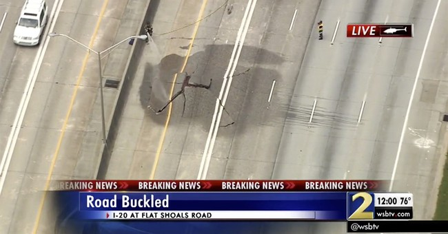 Correction: Buckled Highway story