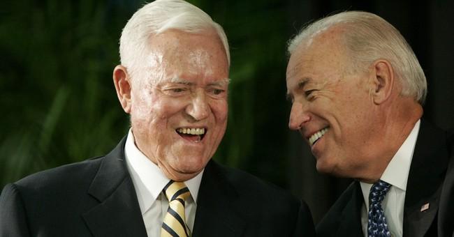 Former VP Biden: Sen. Hollings epitomizes courage, integrity