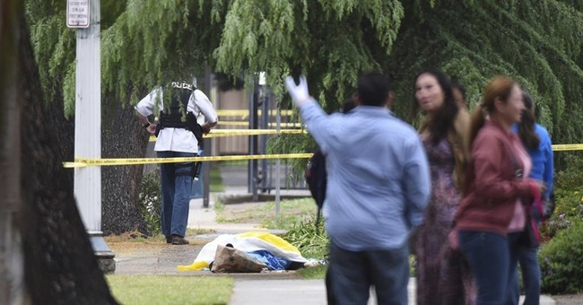 The Latest: Police: Fresno suspect laughed about killings