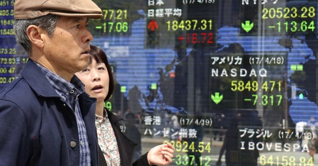 Global stocks mixed after UK announces snap election