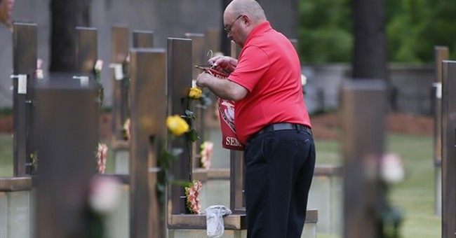 Divisions abound 22 years after Oklahoma City bombing