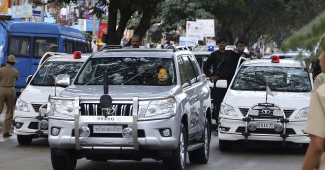 No red beacon lights for VIPs from May 1