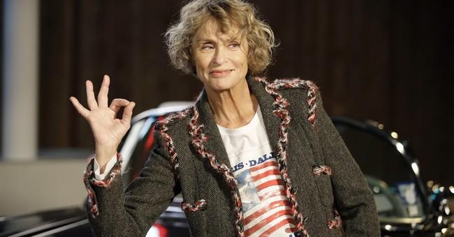 73-year-old Lauren Hutton stars in Calvin Klein underwear ad