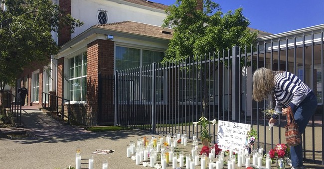 The Latest: Dad: Fresno suspect blamed whites for drug use