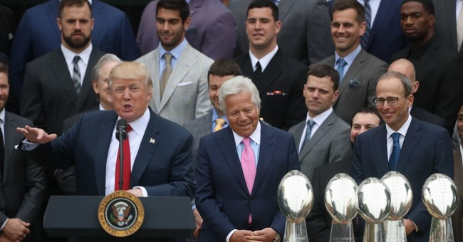 The Latest: Trump on Pats, 'No team has been good this long'