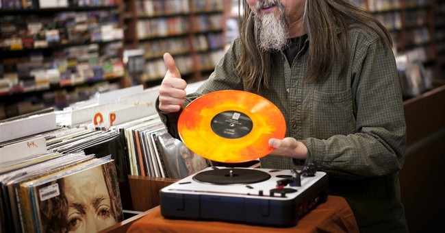 Vinyl music gives record stores a boost in a digital world