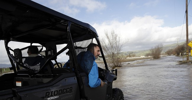 Flooded California residents rescued as major storms recede