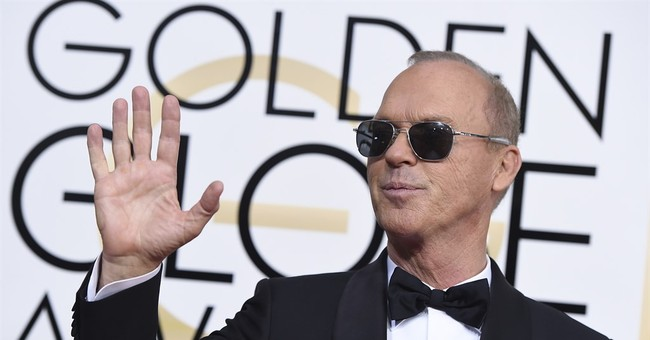Michael Keaton apologizes for 'Hidden Fences' flub at Globes
