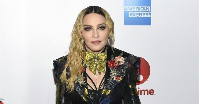 Madonna: Trump presidency like 'being stuck in a nightmare'
