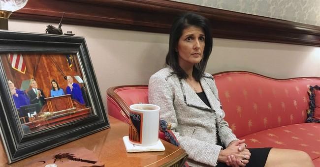 Haley on UN job: South Carolina crises, lessons in diplomacy