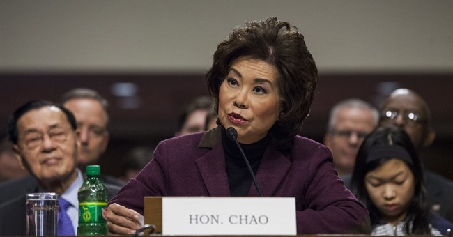 Chao says private investors can help boost transportation