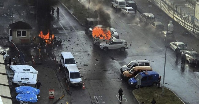 Kurdish militants claim car bomb attack in Turkey's Izmir