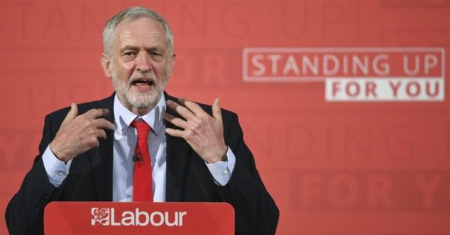 Labour leader says UK election 'establishment vs people'