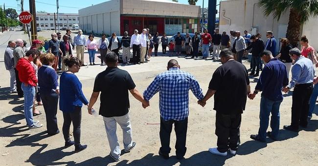 The Latest: Fresno, California gunman has violent record
