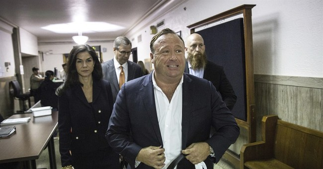 'Infowars' host Jones says his on-air persona not a 'trick'