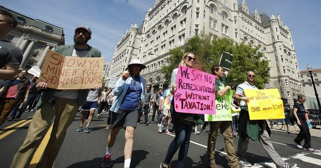 Busy year for protests could cost Washington millions
