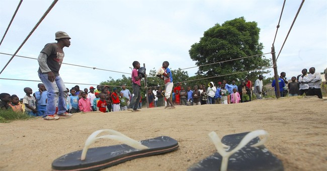 In Zimbabwe, boys are offered boxing instead of despair