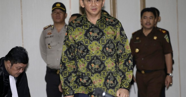 Indonesia prosecutors seek 2 years probation for Jakarta gov