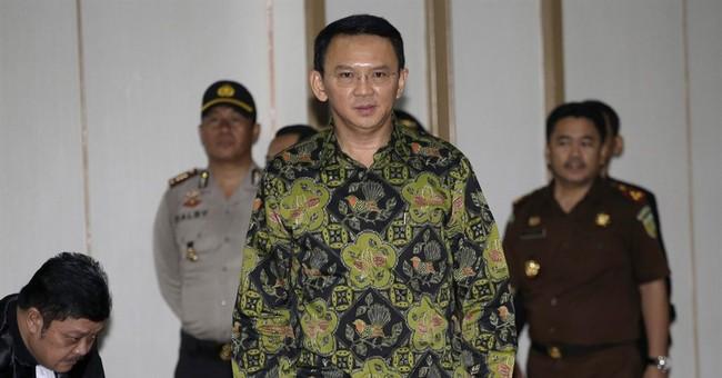 Indonesia prosecutors seek 2 years probation for Jakarta gov