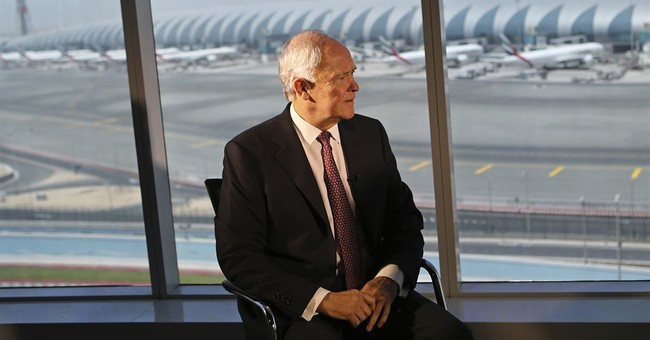 AP Interview: Emirates won't withdraw from US cities