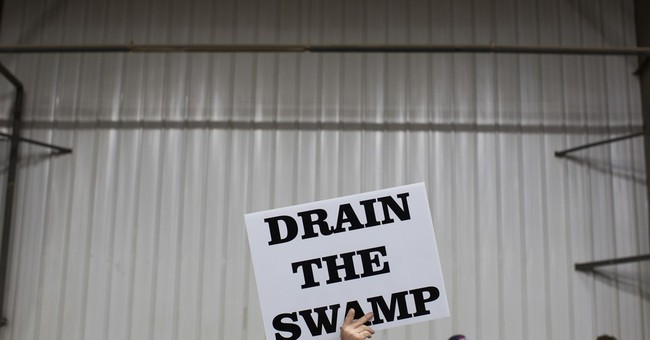 'Drain the swamp' more a Trump slogan than a practice so far