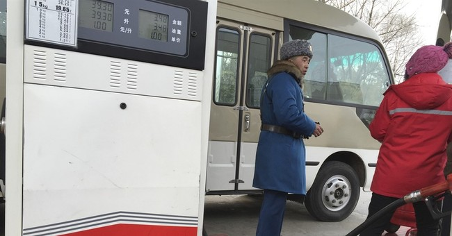 Pyongyang drivers scramble as gas stations limit services