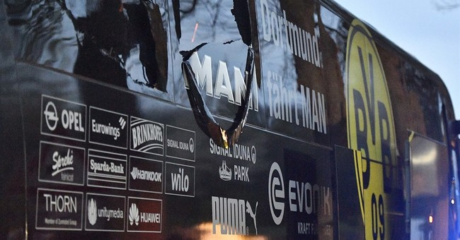 Germany: Suspect bet against Dortmund then bombed its bus